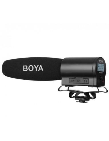 Micrófono de cañon grabador Boya BY-DMR7