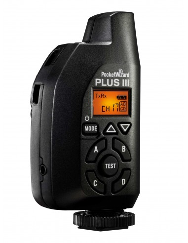 POCKETWIZARD PLUS III TRANSCEPTOR