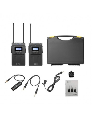Kit Micrófono inalámbrico UHF Pro...
