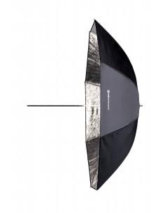 Paraguas Shallow Plata 105 cm