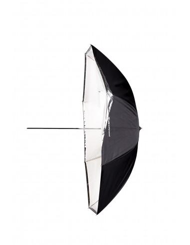 Paraguas Shallow Blanco / Traslúcido...
